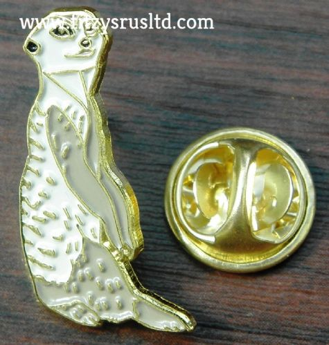 Meerkat Lapel Hat Cap Tie Pin Badge Animal Brooch suricate Suricata suricatta T2